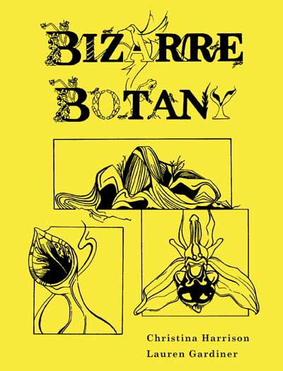 Book cover of Bizarre Botany - non-fiction book PR & publicity, READ Media