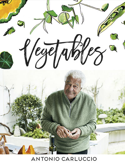 Book cover of VEGETABLES (Antonio Carluccio) - non-fiction book PR & publicity, READ Media
