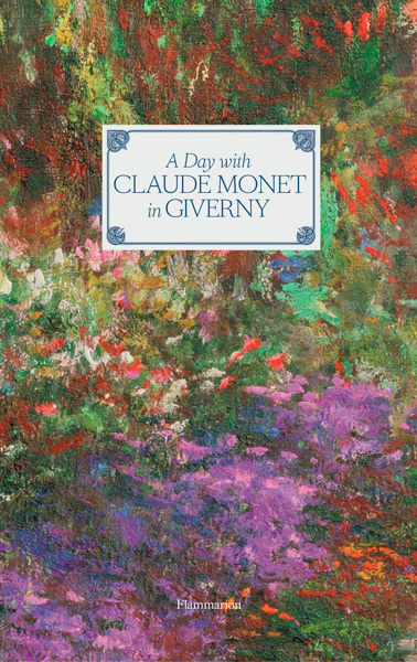book cover of A Day With Claude Monet in Giverny, non-fiction book PR & publicity, READ Media