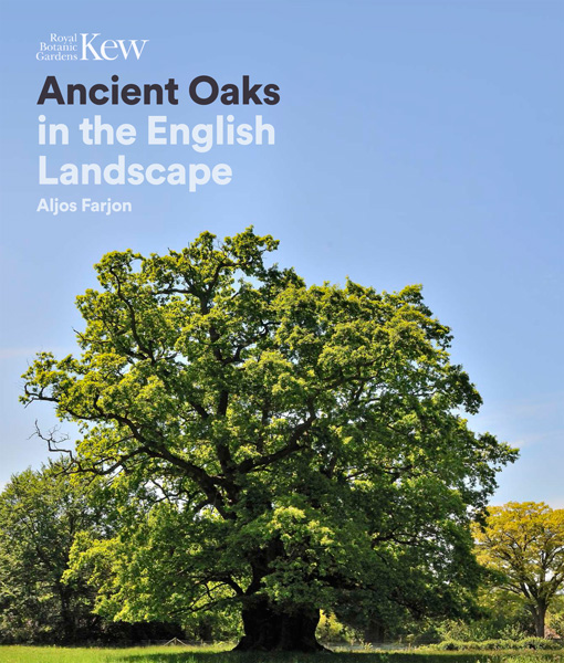 book cover of Ancient Oaks in the English Landscape, non-fiction book PR & publicity, READ Media