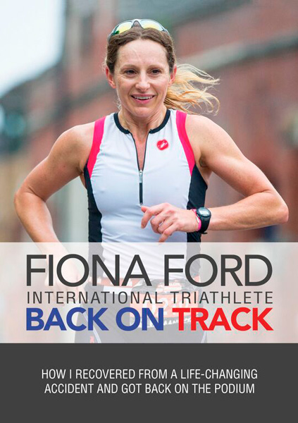 book cover of Fiona Ford - Back On Track, non-fiction book PR & publicity, READ Media