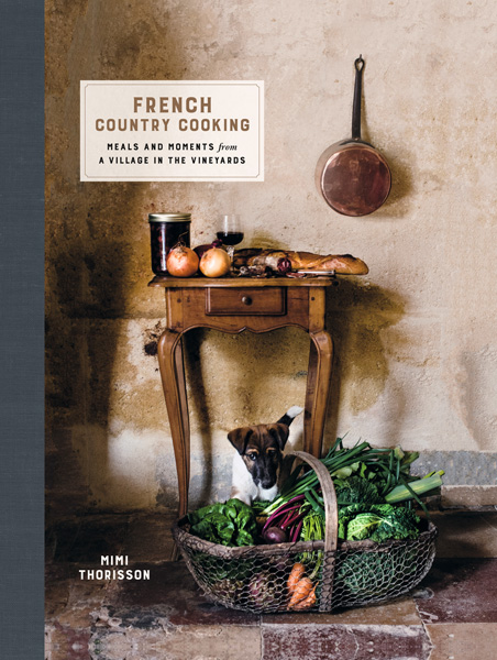 book cover of French Country Cooking, non-fiction book PR & publicity, READ Media