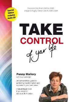 book cover of Take Control of your life by Penny Mallory - non-fiction book PR & publicity, READ Media