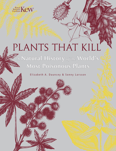 book cover of Plants That Kill, non-fiction book PR & publicity, READ Media