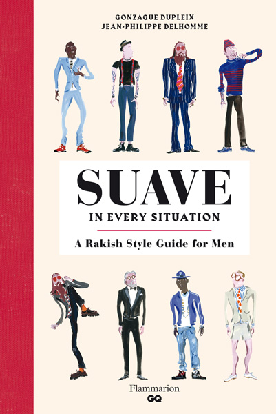 book cover of Suave in Every Situation, non-fiction book PR & publicity, READ Media