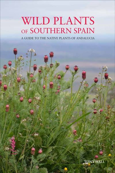 book cover of Wild Plants Of Southern Spain, non-fiction book PR & publicity, READ Media