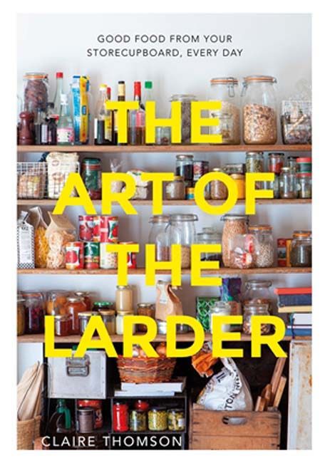 book cover of The art of the larder, non-fiction book PR & publicity, READ Media