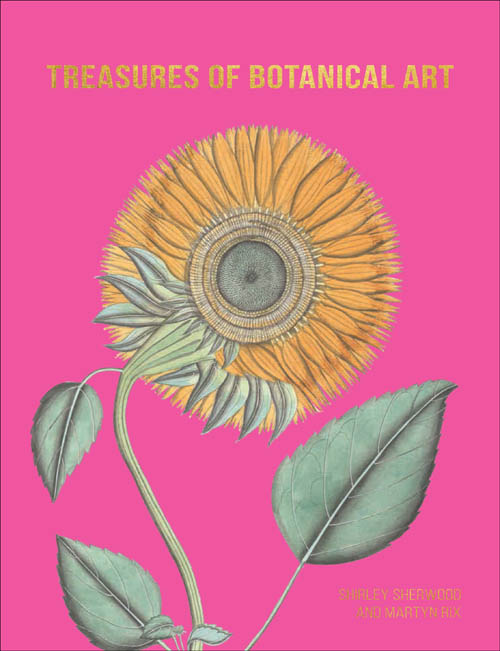 book cover of Treasures of Botanical Art, non-fiction book PR & publicity, READ Media