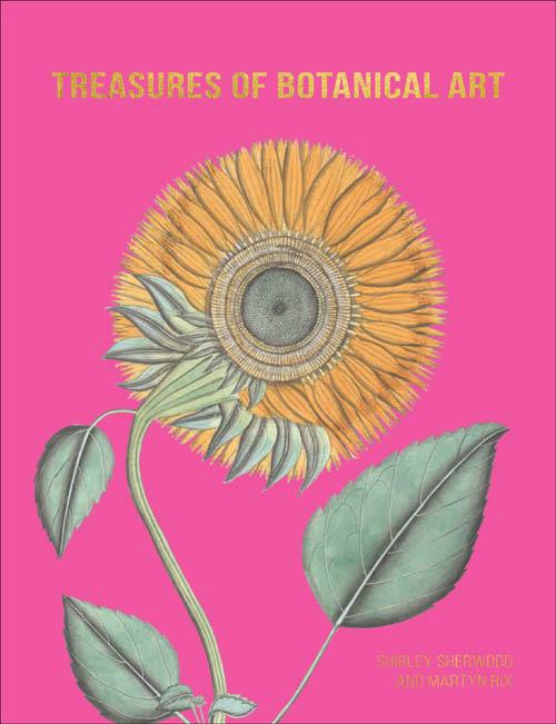 book cover of Treasures of Botanical Art, non-fiction book PR & publicity, READ Media