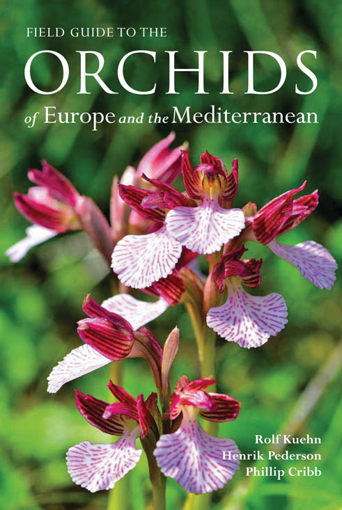 book cover of Orchids of Europe and the Mediterranean, non-fiction book PR & publicity, READ Media