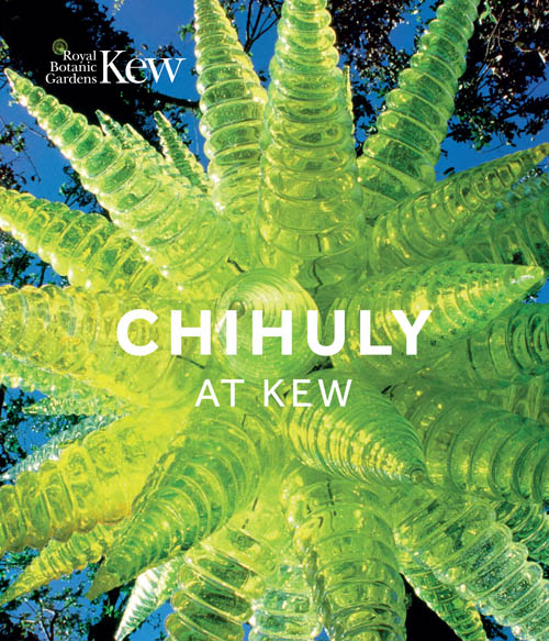 book cover of Chihuly at Kew, non-fiction book PR & publicity, READ Media