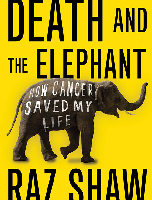 book cover of Death and the Elephant, non-fiction book PR & publicity, READ Media