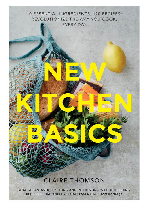 book cover of New Kitchen Basics, non-fiction book PR & publicity, READ Media