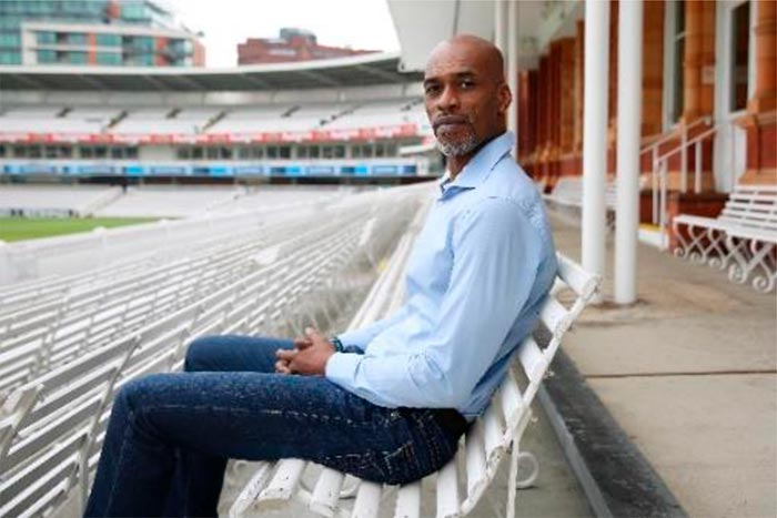 Chris Lewis at Lord's Cricket Ground April 2016