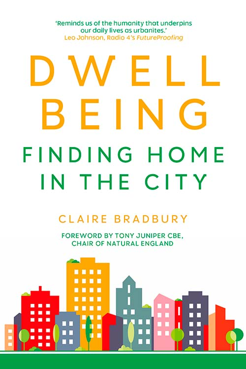 Dwellbeing book cover - non-fiction book PR & publicity, READ Media